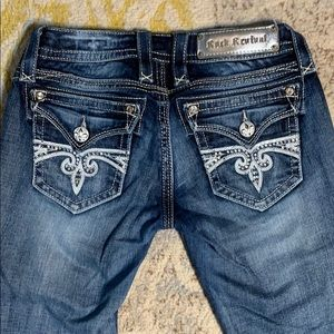Rock Revival Sara Boot Jeans Size 26W